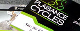 Carte commerciale - Plaisance Cycle
